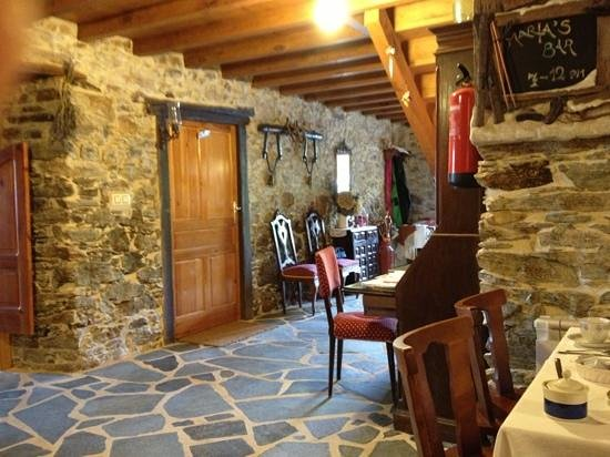Casa Rural a Pasada: hall