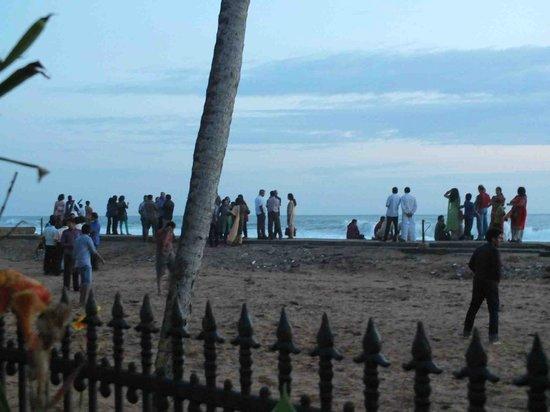 Uday Samudra Leisure Beach Hotel & Spa: sunset at the beach