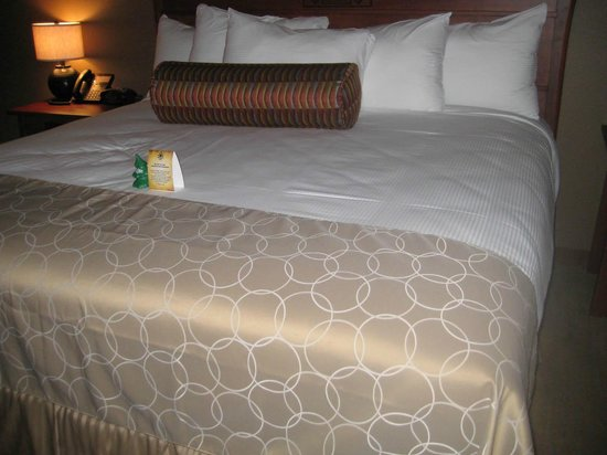Lucky 7 Casino & Hotel – Howonquet Lodge: Huge, comfortable bed