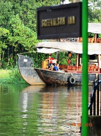 Sreevalsam Inn : Lake view from the Villa