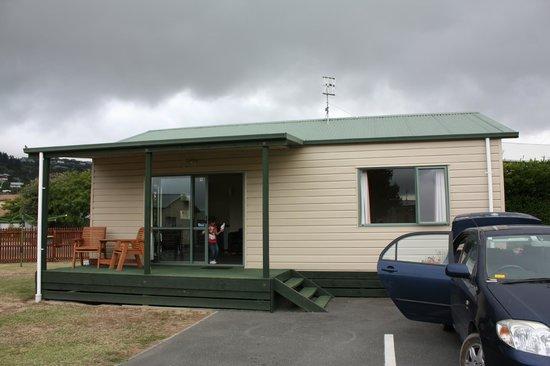 Tahuna Beach Kiwi Holiday Park and Motel: Vue de l'extérieur