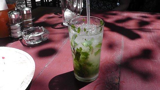 El Cafecito Lonza: Delicious Mojito!