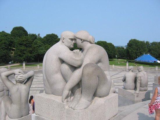 Vigeland Museum : couple