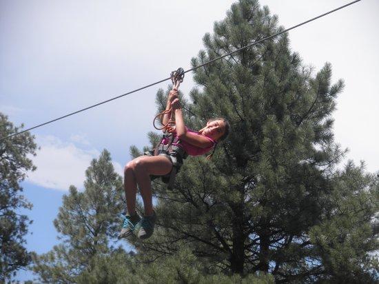 Flagstaff Extreme: Ziplining...