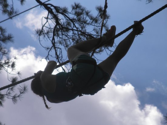 Flagstaff Extreme : Pirate Rope (ouch!)...