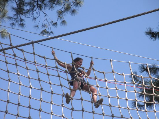 Flagstaff Extreme : Rope bridge...