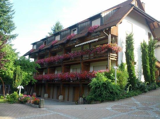 Adler: Flowers on each balcony