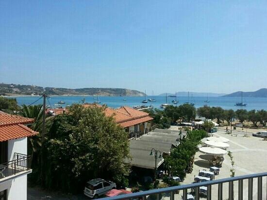 Hotel Alex: Balcony view