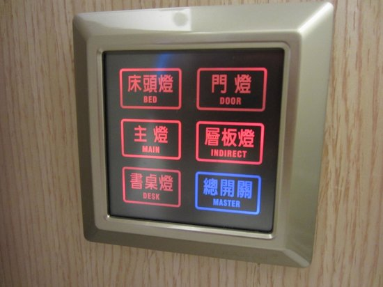 New Stay Inn: Lights Control beside the bed