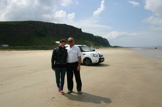 Crockgarve Bed & Breakfast: Downhill Beach on the North coast between Coleraine and Derry