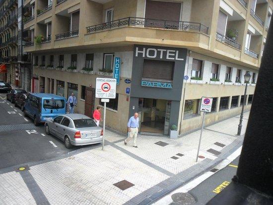 Parma Hotel : Hotel Parma en el mejor parte de San Sebastian