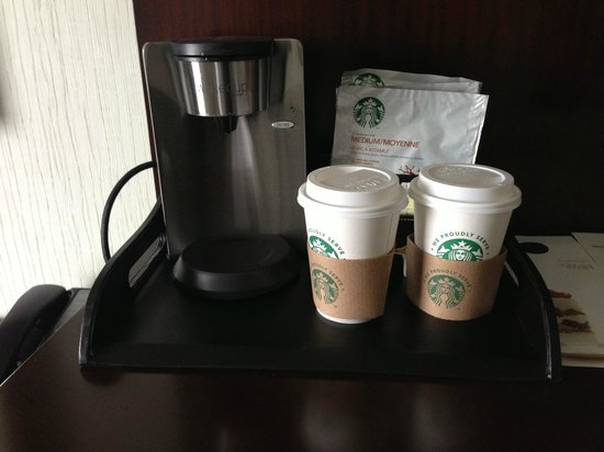 The Westin Washington National Harbor : Coffee machine in room