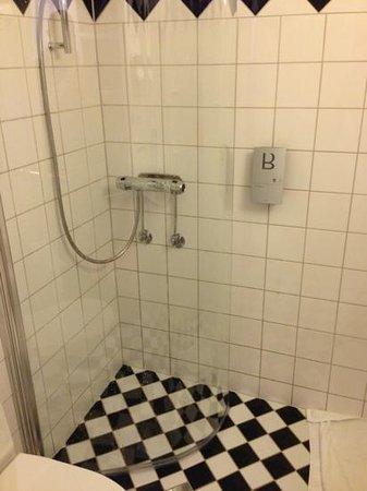 Hotel Birger Jarl: bagno piccolissimo
