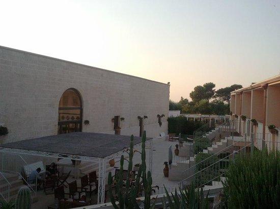Hotel Masseria Bandino : Masseria Bandino al tramonto...