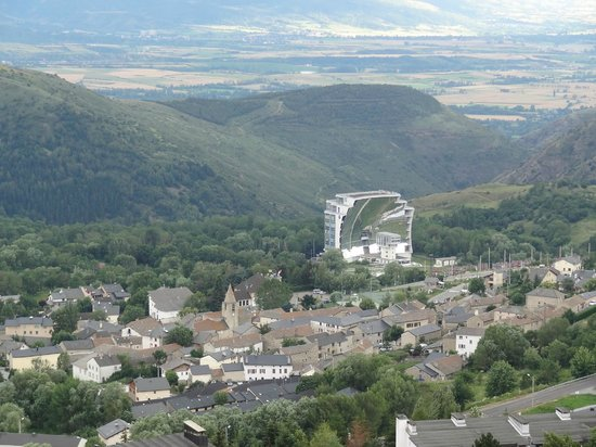 Pyrenees Hotel : Le four solair d'Odeillo