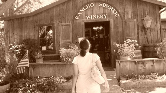 Rancho Sisquoc Winery : Rancho Sisquoc Entrance