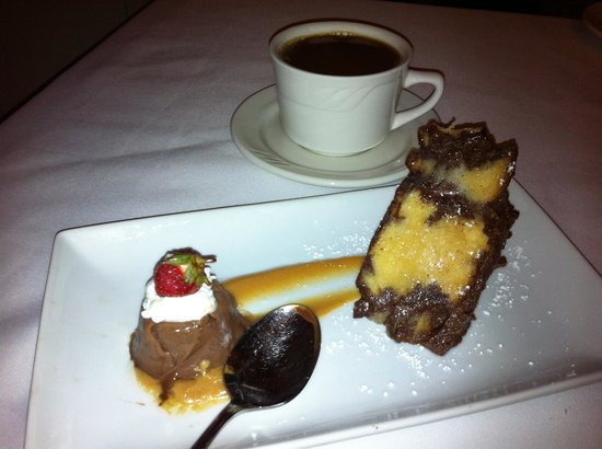 The Restaurant at the Golden Eagle Inn: Chocolate Peanut Butter Bread Pudding