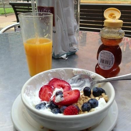 Mac's Diner: my yogurt