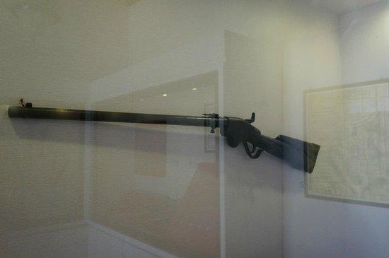 Sonobudoyo Museum: Dutch rifle