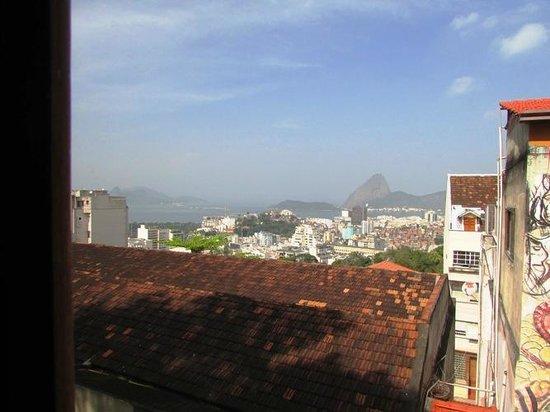 Santo Mirante Hostel: Aussicht aus dem Doppelzimmer