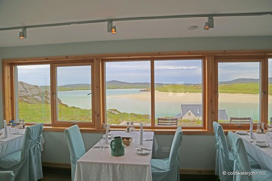 Restaurant at Auberge Carnish: View from the dining room of Auberge Carnish