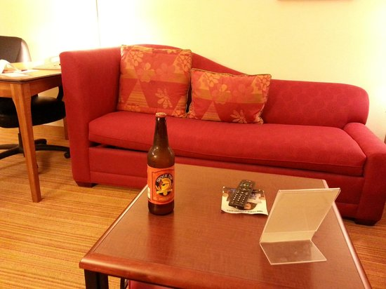 Residence Inn San Diego Mission Valley: my free beer