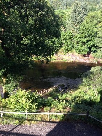 Tigh an Daraich Luxury Lodges : view from my balcony in the Laurel tree lodge