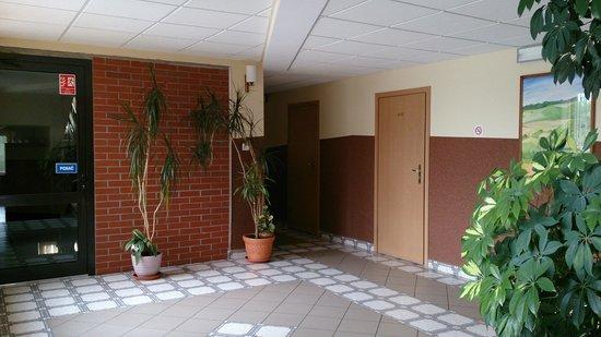 Hotel Dunajec: Hallway