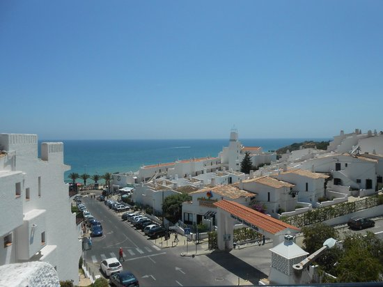 Apartamentos Soldoiro: View of Oura Beach from room 52