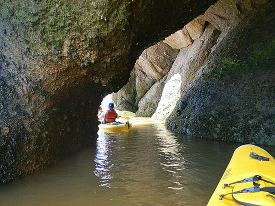 Baymount Outdoor Adventures: Slot canyoning in a kayak