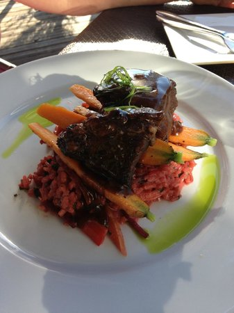 Sea Glass Waterfront Grill: Beef side ribs, awesome!
