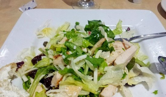 Riverwalk Place: Grilled cherry chicken salad was tasty