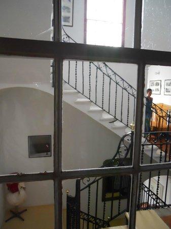 Casa Alberti: vista dalle scale