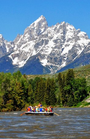 Solitude Float Trips Grand Teton National Park June