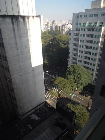 Hotel Excelsior Sao Paulo: View of the Praca da Republica from the 13th floor.