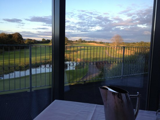 Castle Dargan: Dinner with a view
