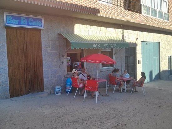 La Carrera, España: terraza calé
