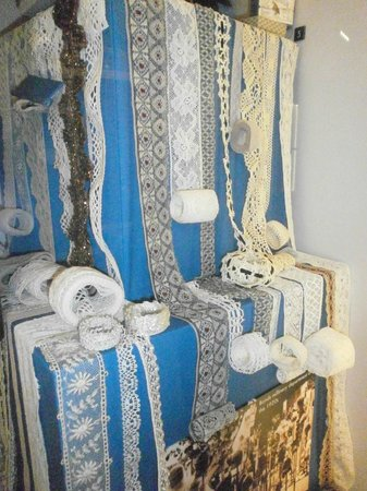 Museum of Norwich at the Bridewell: 1920s lace