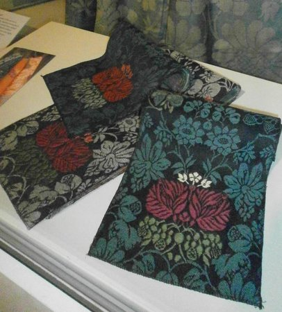 Museum of Norwich at the Bridewell: Very old fabric samples