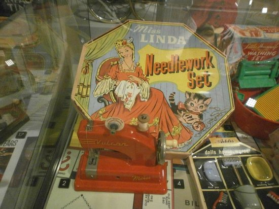 Museum of Norwich at the Bridewell : mid-20th century toys