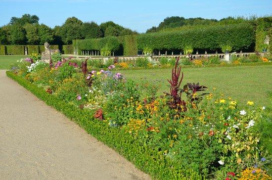 Barockgarten Grosssedlitz: The flower beds.