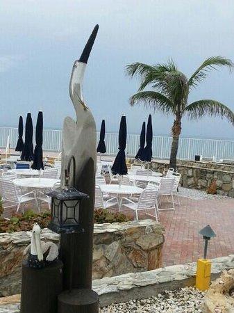 Jupiter Reef Club Resort : The courtyard