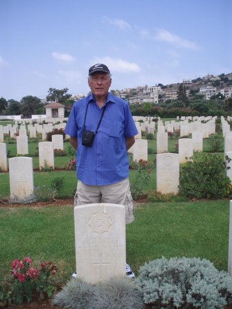Souda, Hellas: My Father's final resting place.