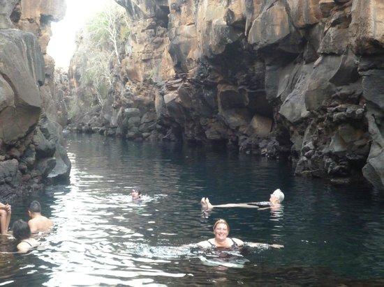 Las Grietas: Hacía calor y el agua estaba increíble... fría pero increíble.