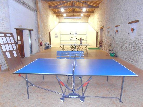 Domaine Les Granges : Games Room