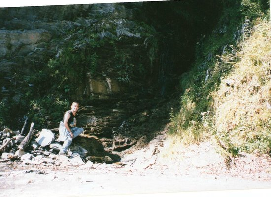 Pyrenees National Park (Parc National des Pyrenees): myself on a walk to the top of the Pène Blanque