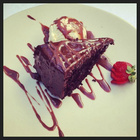 Sotogrande, Spanien: Chocolate Cake!