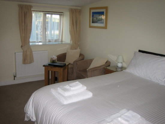 Hendre Barns: B&B - Double room with comfortable seating