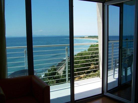Sol Marina Palace : Вид из номера на море