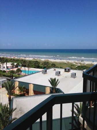 Doubletree By Hilton Hotel Cocoa Beach Oceanfront Partial Ocean View From Balcony Of 620